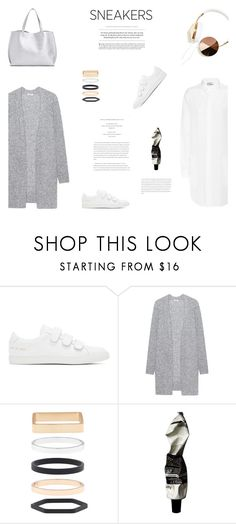 """""""WHITE SNEAKERS"""" by canvas-moods ❤ liked on Polyvore featuring Common Projects, Acne Studios, Accessorize, Aesop, modern and contemporary"""