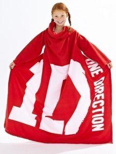 + One Direction 2-Sleeved Fleece BlanketIt's the little things. Like this One Direction 2-sleeved fleece blanket.OneDirectionStore.com($25.42) from One Direction