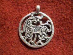 Replica - BORRA pendant  Horse pendant. Borra style design, Norwegian. 10th century.