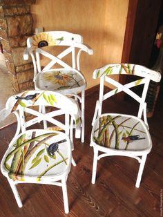 Купить Роспись мебели - Мебель, роспись мебели, роспись мебели в минске, стулья венские