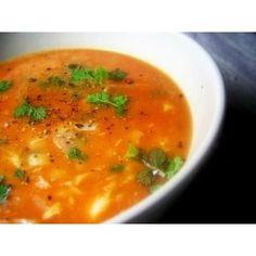Sopa de Peixe com Hortelã da Ribeira - Fish Soup with Hart's Pennyroyal Mint - Portuguese Food