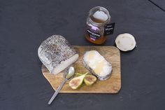 monte enebro with honey and figs