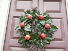 Christmas Wreaths in Colonial Williamsburg
