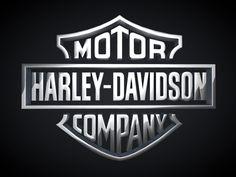 Harley-logo-3d-chrome
