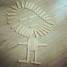 Kapla lion , made by my daughter Time For Africa, Diy And Crafts, Crafts For Kids, Block Play, Plank, Safari, To My Daughter, Lego, Shapes
