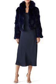 Navy Tillie Jacket by Adrienne Landau
