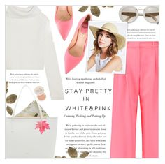 """""""*760*"""" by monazor ❤ liked on Polyvore featuring McQ by Alexander McQueen, Haider Ackermann, Fendi, BCBGeneration, Fresh, Ted Baker, lovely, summerstyle, womenfashion and pinkandwhite"""