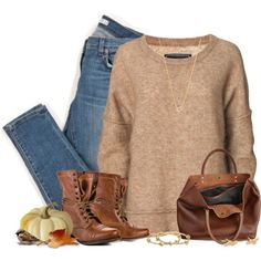 Created in the Polyvore iPhone app. http://www.polyvore.com/iOS @polyvore-editorial @polyvore-editorial #Fall #falloutfit #simpleoutfit