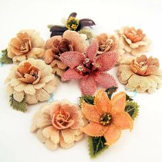 . Hobbies And Crafts, Arts And Crafts, Art Du Fil, Leather Flowers, Needle Lace, Bead Crochet, Handmade Flowers, Beaded Flowers, Burlap Wreath