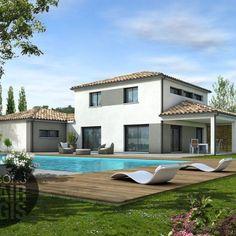Modèle de maison TAHITI - . Retrouvez tous les types de maison à vendre en France sur Faire Construire Sa Maison