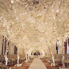 David Tutera wedding decor. Breathtaking!                                                                                                                                                      More