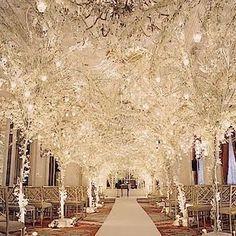 David Tutera wedding decor. Breathtaking!                                                                                                                                                      More