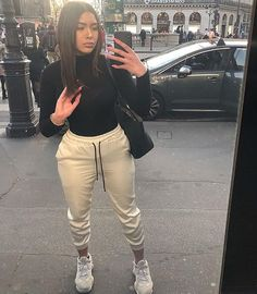 View more ideas about Fashion outfits, Swag outfits and Female fashion. Chill Outfits, Cute Comfy Outfits, Sporty Outfits, Dope Outfits, Swag Outfits, Stylish Outfits, Fashion Outfits, Beach Outfits, Grunge Outfits