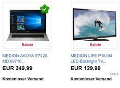 Aldi-Notebook: 17-Zoller Akoya E7420 jetzt als B-Ware für 349,99 statt 499 Euro https://www.discountfan.de/artikel/technik_und_haushalt/aldi-notebook-akoya-e7420-jetzt-als-b-ware-fuer-349-99-euro.php Großes Notebook zum kleinen Preis: Mit dem Medion Akoya E7420 (MD 99710) ist jetzt bei Ebay ein 17-Zoll-Laptop mit sechs GByte RAM und 128 GByte SSD-Speicher (plus Terabyte-Festplatte) als B-Ware für 349,99 Euro frei Haus zu haben. Vor wenigen Wochen kostete es bei Aldi noch