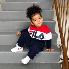Cool Baby Clothes Baby Onesies Online Infant D So Cute Baby, Cute Mixed Babies, Cute Black Babies, Beautiful Black Babies, Pretty Baby, Cute Little Girls, Cute Babies, Fashion Kids, Baby Girl Fashion