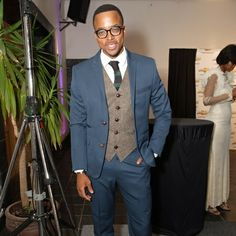 Our favourite local style icon, Maps Maponyane, looking suave in this three piece navy suit #jonathandafrica #jonathand #mapsmaponyane #styleicon #suit #style @mmaponyane