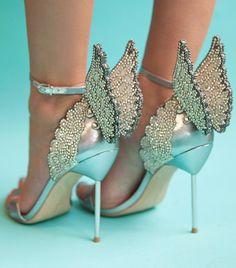 Sophia Webster Evangeline crystal-embellished lamé sandals