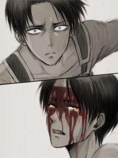 This part in the manga was so sad. I cried when Eren said that it was too painful for him to live.