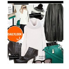 """Baby, It's Cold Outside with Dailylook: Contest Entry"" by honii on Polyvore"