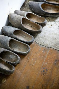 klompen | wooden shoes