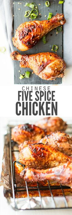 This easy Chinese 5 spice chicken recipe works on wings or breasts, in stir-fry, fried chicken or even whole chickens for a bang of flavor. It's my new fav! :: DontWastetheCrumbs.com