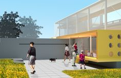 How do you design a shelter that encourages the adoption of animals?