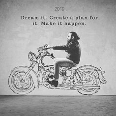 Don't let 2019 just happen to you. You have agency - use it. Don't Let, Let It Be, Make It Happen, Bike Design, Hipster Fashion, How To Plan, How To Make, Shit Happens, Quotes