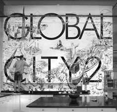 Global City Wall Illustration – Fubiz Media