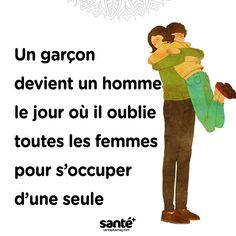 #citations #vie #amour #couple #amitié #bonheur #paix #esprit #santé #jeprendssoindemoi sur: www.santeplusmag.com Best Quotes, Life Quotes, The Lucky One, Relationship Memes, Motivation, Religion, Love, Couples, Words