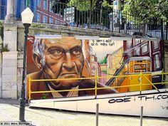 Lisbon, graffiti contest