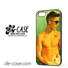 Justin Biebers shirtless DEAL-6058 Apple Phonecase Cover For Iphone 5 / Iphone 5S