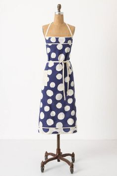 Polka dot Anthro chef's apron $19.95