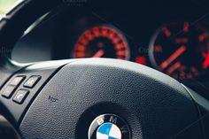 Car speedometer by michalkulesza on Creative Market #car #speedometer #bmw