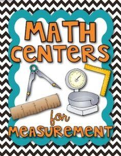 Math Measurement: Centers