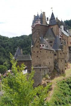 Are you on a castle quest in Germany? One castle you should be sure not to miss is Burg Eltz. It's a beautiful castle near the Mosel River area, but what makes it unique is in its thousand year history, the castle has never been destroyed. It's not a reconstruction or replica – it's the real deal!