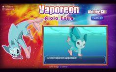 aloha form vaporeon | Nuevas formas de alola filtradas en el foro Pokémon Luna / Sol - 2016 ...