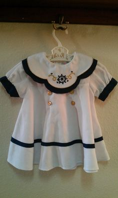 Baby girl sailor dress