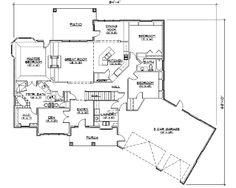 House Plan chp-24596 at COOLhouseplans.com