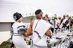 XHOSA AND ZULU WEDDING.Their main items of clothing include long skirts and aprons in beautiful printed or embroidered fabrics. Zulu Wedding, Wedding Blog, Wedding Styles, Ready For Marriage, Xhosa, South African Weddings, New Journey, Married Woman, African Culture