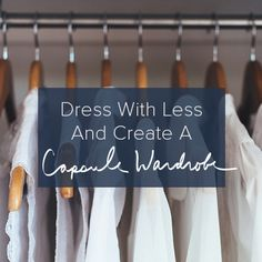 Minimalist Fashion Project 333 Begins - Be More with Less