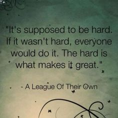 Ok, I know I've pinned this before, but I just feel like this need to be my teams' quote for this year! I just love it!