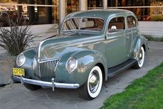 1939 Ford Model 91 A Deluxe Tudor Sedan  My father had one like this..one of my favorites...