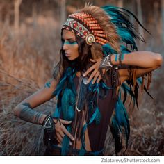 Indian Woman Portrait Outdoors Background Free Stock Photo (Edit Now) 420044404 Native American Girls, Native American Beauty, Costume Halloween, Indian Costumes, Maquillaje Halloween, Halloween Disfraces, Native Indian, Female Portrait, Woman Portrait