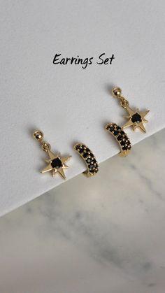 Gold Jewelry Simple, Trendy Jewelry, Dainty Jewelry, Bridal Jewelry, Bridal Earrings, Jewelry Ideas, Jewlery, Jewelry Box, Gold Bangles For Women