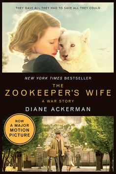 "Set to hit theaters later this month, The Zookeeper's Wife is a historical novel set during WWII in Nazi-occupied Poland.    ""After their zoo was bombed, Polish zookeepers Jan and Antonina Zabinski managed to save over three hundred people from the Nazis by hiding refugees in the empty animal cages. With animal names for these ""guests,"" and human names for the animals, it's no wonder that the zoo's code name became The House Under a Crazy Star."""