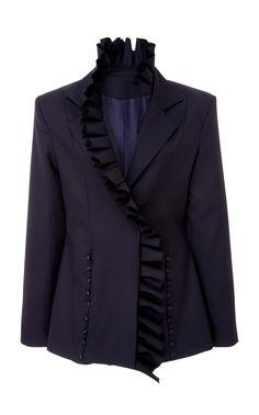 I Lead From The Heart Wool Blazer by MAGGIE MARILYN for Preorder on Moda Operandi