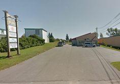 Centre du Commerces. Caraquet, Nouveau-Brunswick, Canada.