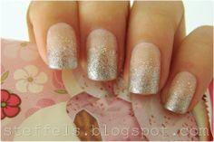 steffels.: Silver glitter gradient