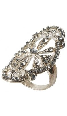 Bague Retro Diamants