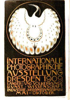 Animal - Bird - White bird, art nouveau